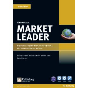 Market Leader 3ed Elementary.  Flexi Course Book 1