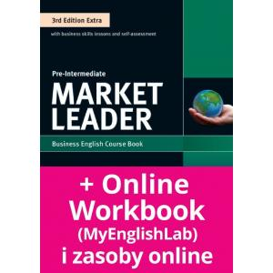 Market Leader 3Ed Extra Pre-Intermediate. Podręcznik + DVD-ROM + MyEnglishLab
