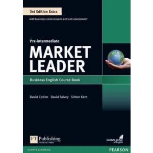 Market Leader 3Ed Extra Pre-Intermediate. Podręcznik + DVD-ROM