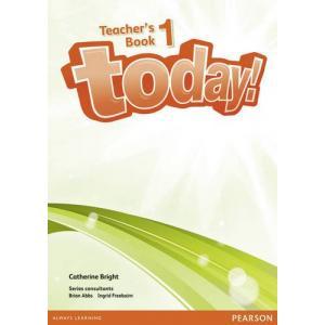 Today! 1. Książka Nauczyciela + DVD. Wersja Dla Szkół Językowych