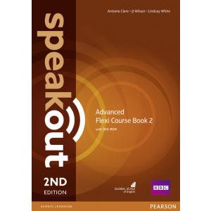 Speakout 2ed Advanced. Flexi Course Book 2 + DVD