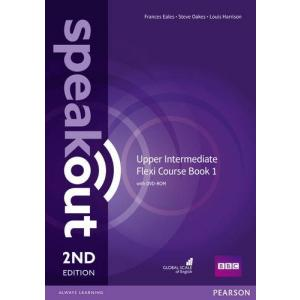 Speakout 2ND Edition. Upper Intermediate. Flexi Course Book 1 with DVD-ROM
