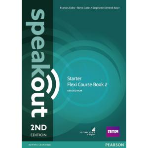 Speakout Starter 2nd Edition Flexi Course Book 2 with DVD-ROM