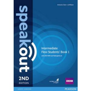 Speakout 2Ed Intermediate. Flexi Course Book 1 + DVD + MyEnglishLab