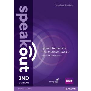 Speakout 2ed Upper-Intermediate Flexi Students' Book 2 with DVD-ROM and MyEnglishLab