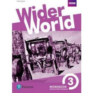 Wider World 3. Ćwiczenia + Online Homework