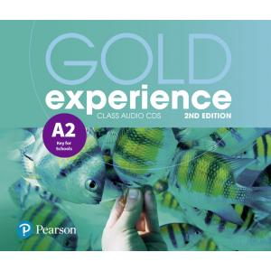 Gold Experience 2nd Edition A2. CD do Podręcznika