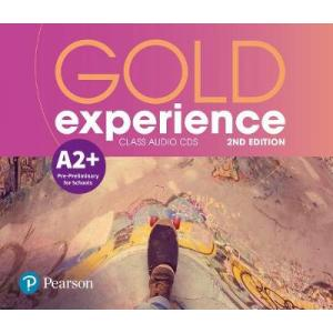 Gold Experience 2nd Edition A2+. CD do Podręcznika