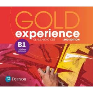 Gold Experience 2nd Edition B1. CD do Podręcznika
