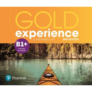 Gold Experience 2nd Edition B1+. CD do Podręcznika