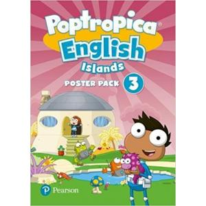 Poptropica English Islands 3. Plakaty