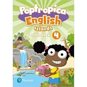 Poptropica English Islands 4. Plakaty