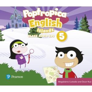 Poptropica English Islands 5. CD do Podręcznika