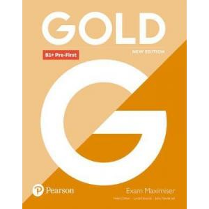 Gold B1+ Pre-First New Edition. Exam Maximiser bez Klucza