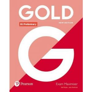Gold B1 Preliminary New Edition. Exam Maximiser bez Klucza
