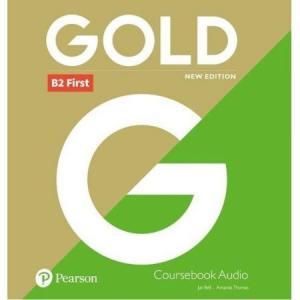 Gold B2 First New Edition. CD do Podręcznika