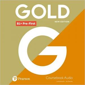 Gold B1+ Pre-First New Edition. CD do Podręcznika
