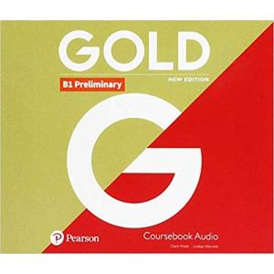 Gold B1 Preliminary New Edition. CD do Podręcznika