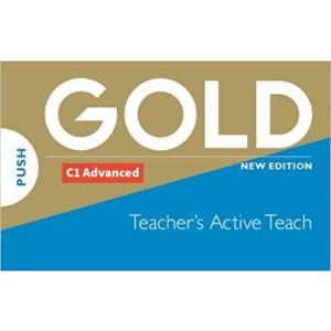 Gold C1 Advanced 2018 Teachers Active Teach USB