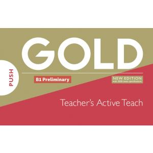 Gold B1 Preliminary 2018 Teachers Active Teach IWB USB