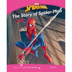 Marvel's Spider-Man: The Story of Spider-Man. Pearson English Kids Readers