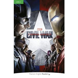 Marvel's Captain America: Civil War + MP3. Pearson English Readers