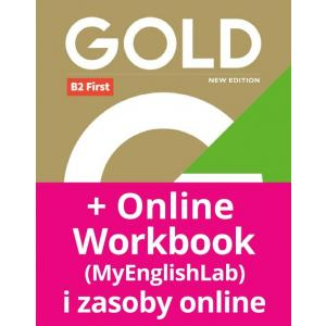 Gold B2 First New Edition. Podręcznik + MyEnglishLab