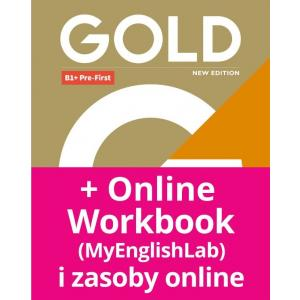 Gold B1+ Pre-First New Edition. Podręcznik + MyEnglishLab