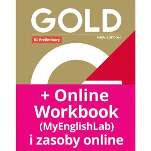 Gold B1 Preliminary 2018 Coursebook + MyEnglishLab