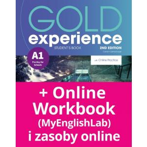 Gold Experience 2nd Edition A1. Podręcznik + Online Practice