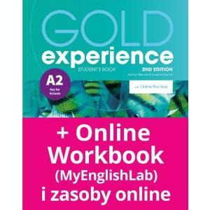 Gold Experience 2nd Edition A2. Podręcznik + Online Practice