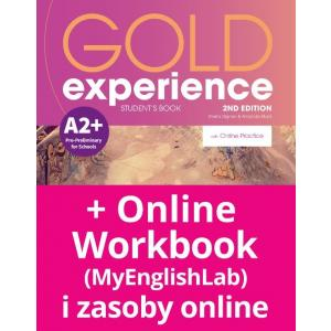 Gold Experience 2nd Edition A2+. Podręcznik + Online Practice