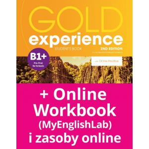 Gold Experience 2nd Edition B1+. Podręcznik + Online Practice