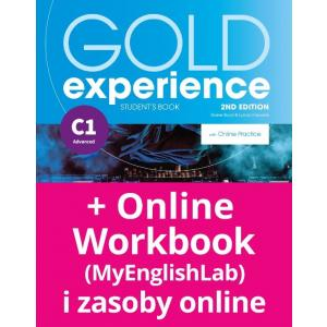 Gold Experience 2nd edition C1 Student`s Book + OnlinePractice