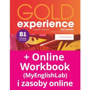 Gold Experience 2nd Edition B1. Podręcznik + Online Practice