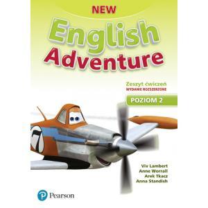 New English Adventure PL 2 AB + DVD (materiał ćwiczeniowy) wydanie rozszerzone