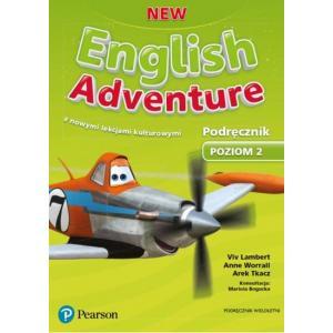 New English Adventure 2. Podręcznik Wieloletni z Nowymi Lekcjami Kulturowymi