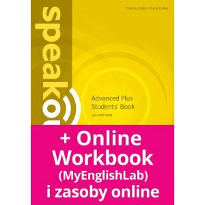 Speakout 2Ed Advanced Plus. Podręcznik + DVD-ROM + MyEnglishLab