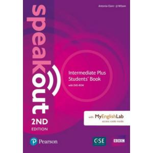 Speakout 2Ed Intermediate Plus. Podręcznik + DVD-ROM + MyEnglishLab