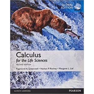 Calculus for the Life Sciences Global Edition