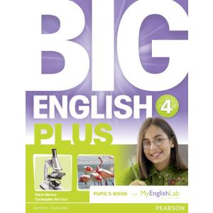 Big English Plus 4. Pupil's Book + MyEnglishLab
