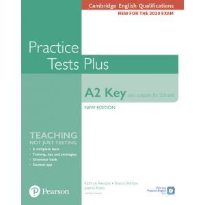 Practice Tests Plus A2 Key. Cambridge Exams 2020 (Also for Schools). Podręcznik bez klucza