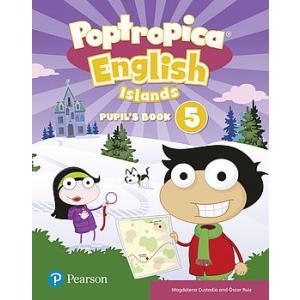 Poptropica English Islands 5. Podręcznik + Online Game Access Card