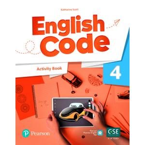 English Code 4. Activity Book with Audio QR Code