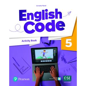English Code 5. Activity Book with Audio QR Code