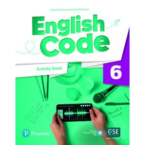 English Code 6. Activity Book with Audio QR Code