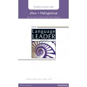 New Language Leader. Advanced. eText and MEL Student's Online Access Code