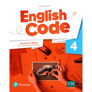 English Code 4. Teacher's Book with Online Access Code