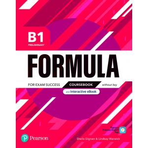 Formula. B1 Preliminary. Coursebook without key with student online resources + App + eBook