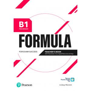 Formula. B1 Preliminary. Teacher's Book with Presentation Tool and Online resources + App + ebooks